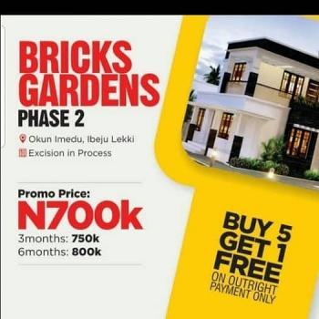 Land Banking Opportunity, Bricks Garden Estate, Okun Imedu, Ibeju Lekki, Lagos, Residential Land for Sale