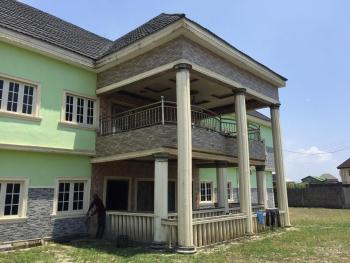 11 Bedroom Fully Detached Duplex with 4 Sitting Rooms 15 Bathrooms, New Site Estate Opposite Navy Town, Satellite Town, Ojo, Lagos, Detached Duplex for Sale
