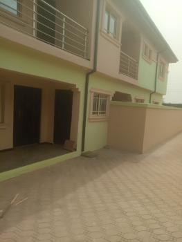 Just Out Now Newly Built 2bedroom Flat with Pop Ceilings Kitchen Cabinet, New London Estate Baruwa, Ipaja, Lagos, Flat for Rent