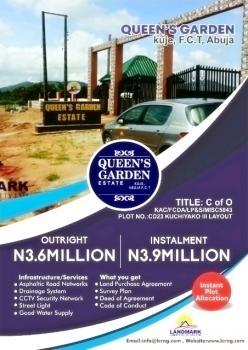 Land, Queen Garden Estate, Kuje, Abuja, Residential Land for Sale
