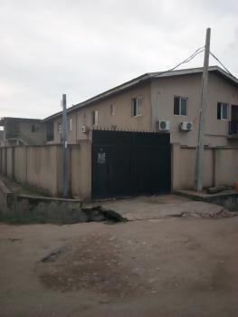 Ground Floor 3 Bedroom Flat, Off Lonlo Bus Stop, Fagba, Agege, Lagos, Flat for Rent