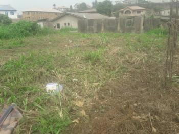 Almost Half Plot of Land in a Good Location, Off Rahmat Crescent, Ogudu, Lagos, Residential Land for Sale