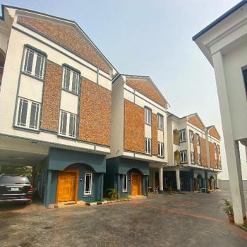 Beautiful 4 Bedroom Detached House with Pool in a Mini Estate, Lekki Phase 1, Lekki, Lagos, Semi-detached Duplex for Sale