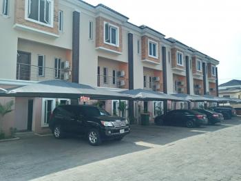 Serviced 2 Bedroom Terraced House with Study, Abiola Court, Osapa, Lekki, Lagos, Terraced Duplex for Rent