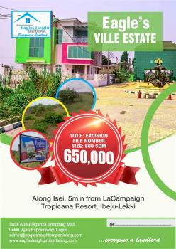 Very Affordable Land Deal with Good Returns on Investment, Along Ise,5mins From La Campagne Tropicana Resort, Akodo Ise, Ibeju Lekki, Lagos, Residential Land for Sale