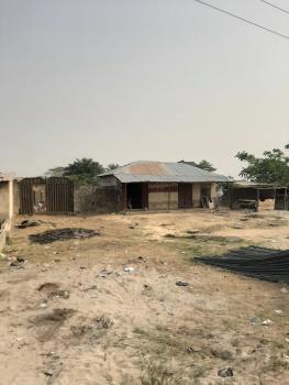 Fenced 1plot of Land Facing Express  with Shops, Just 1min After Bogije Before Eleko Bus Stop, Bogije, Ibeju Lekki, Lagos, Commercial Land for Sale