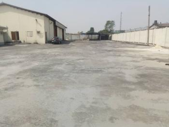 800sqm Warehouse with 1 Idustrial Land Space (9plots), Trans Amadi, Port Harcourt, Rivers, Warehouse for Rent