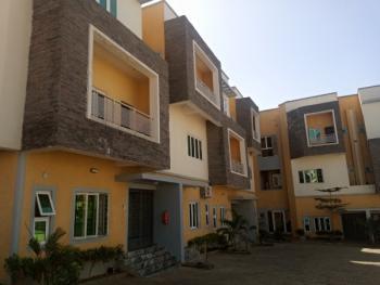 Massive 4 Bedroom Terraced Duplex with a Bq, Before Coza, Guzape District, Abuja, Terraced Duplex for Rent
