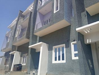 Newly Built 4 Bedroom Terraced Duplex with an Attached Bq, Guzape District, Abuja, Terraced Duplex for Rent
