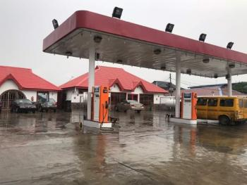 a Functioning Filling Station on 1,000sqm Land, Ijanikin, Badagry, Lagos, Filling Station for Sale