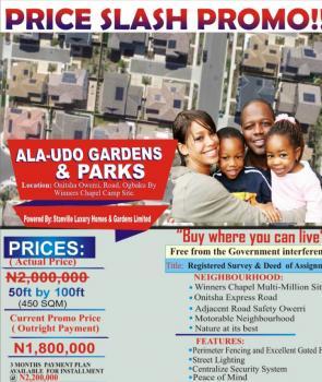 Estate Land, Alaudo Estate Along Onitsha-owerri Road, Owerri, Imo, Residential Land for Sale