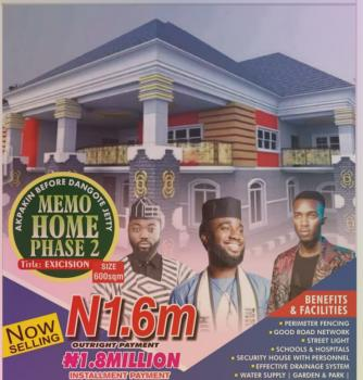 Land with Excision, Before Dangote Jetty 5 Minutes From Free Trade Zone Road, Ibeju Lekki, Lagos, Residential Land for Sale