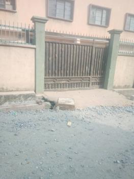 2bed at Shomolu, Gated Compound Equally with Wardrobe in All Rooms, Off Bajulaiye Road, Shomolu, Lagos, Flat for Rent