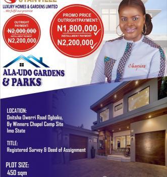 Estate Land, Nkubor, Village, Emene, New Owerri, Owerri, Imo, Residential Land for Sale