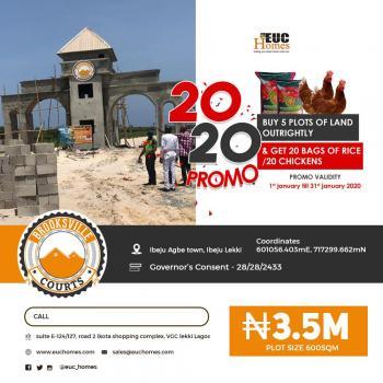 Estate Land, Close to Pan Atlantic University and Amen Esate, Eleranigbe, Ibeju Lekki, Lagos, Residential Land for Sale
