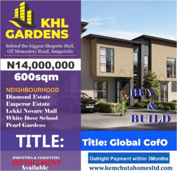 Buy and Build, It Is Limited. Invest Now, Sangotedo, Ajah, Lagos, Mixed-use Land for Sale