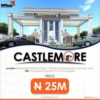 Invest in Castlemore Estate, Behind Lagos Business School, Sangotedo, Ajah, Lagos, Mixed-use Land for Sale