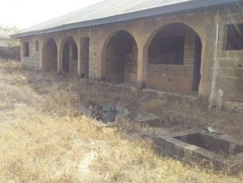 House Slightly Completed for Your Own Style of Decoration, Oloko Elere Near Bukola Purewater Factory, Ido, Oyo, Block of Flats for Sale