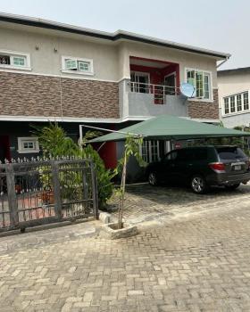 4 Bedroom Semi-detached Duplex in a Fully Serviced Estate, Chevron Drive, Lekki Phase 2, Lekki, Lagos, Semi-detached Duplex for Rent