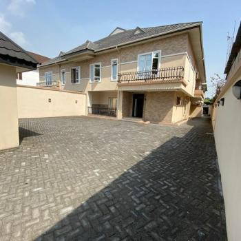 Beautiful 5 Bedroom Semi-detached House with a Bq and Security House, Lekki Phase 1, Lekki, Lagos, Semi-detached Duplex for Sale