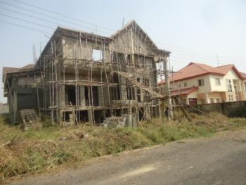4 Bedroom Duplex Carcass with Basement and Bq, Lokogoma District, Abuja, Detached Duplex for Sale