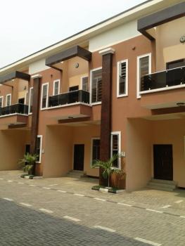 4 Bedroom Luxury Terrace Duplex with a Fitted Kitchen, Chevron Alternative Route Off Chevron Drive Lekkilagos, Lekki Phase 2, Lekki, Lagos, Terraced Duplex for Sale