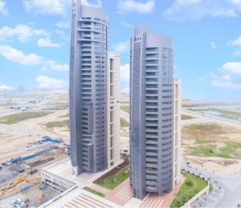 Luxury 3 Bedroom Penthouse with Big Terrace , Ocean and Marina  View, Eko Pearl Tower, Eko Atlantic City, Lagos, Flat / Apartment for Sale