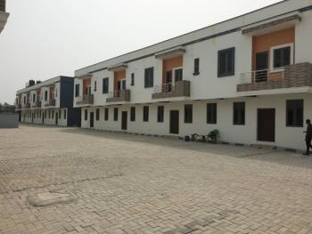 3 Bedroom Terrace Duplexes with Bq, Orchid Road After Second Toll Gate, Lekki, Lekki Phase 2, Lekki, Lagos, Terraced Duplex for Sale