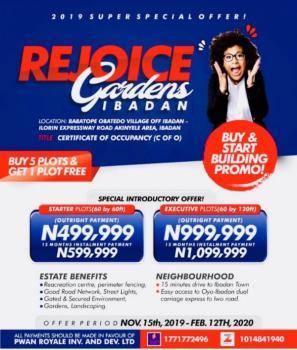 Rejoice Gardens, Akinyele, Oyo, Mixed-use Land for Sale