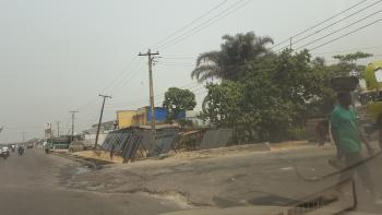 Corner Piece  Land Facing The Road, in Between Lezina Event Center and Total Station Addo Road, Ado, Ajah, Lagos, Commercial Land for Sale