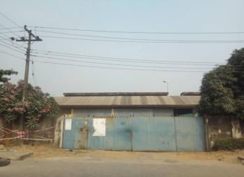 Warehouse on 9500m2 Land, Ilupeju Industrial Estate., Ilupeju, Lagos, Warehouse for Sale
