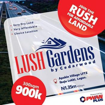 Plots of Land, Lush Gardens, Apakin, Ibeju Lekki, Lagos, Commercial Land for Sale