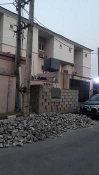 an Exquisitely Built 4 Bedrooms Terrace Duplex in a Clauster of 6 Unit, in a Serene & Secured Estate on Connal Road, By The Mini Army Barracks, Akoka, Yaba, Lagos, Terraced Duplex for Sale