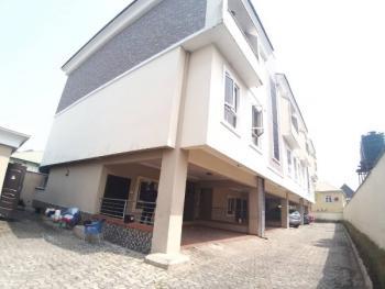 Nice 4 Bedroom Terrace Duplex, Canal West, Osapa, Lekki, Lagos, Terraced Duplex for Rent