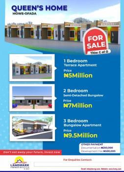 Queens Home, Mowe Ofada, Ogun, Terraced Bungalow for Sale