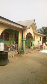 Inspiring Semi Detached Bungalow of 3 Bedroom and 2 Self Contained, Agbarho Town, Ughelli North, Delta, House for Sale