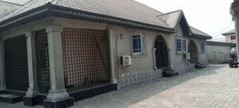 Inviting Semi Detached Bungalow of 2 Flats of 3 Bedroom and 2 Bedroom, Charlisco, Uvwie, Delta, House for Sale