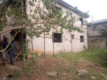 a Well Solidly Built Uncompleted 4 Flats Setback on Almost 1, 000sqm, Oke-ira, Ogba, Ikeja, Lagos, Block of Flats for Sale
