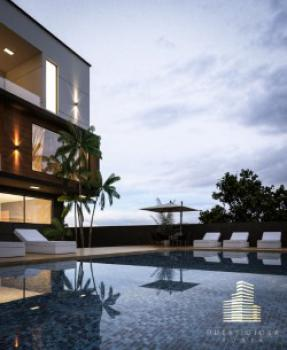 Luxurious Waterfront 5 Bedrooms House (at Finishing Level), Banana Island Estate, Banana Island, Ikoyi, Lagos, Detached Duplex for Sale