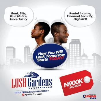 Lush Gardens, Lush Gardens By Cedarwood, Apakin, Ibeju Lekki, Lagos, Mixed-use Land for Sale
