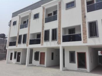 a Marvelous Brand New 4 Bedroom Town House, Ikota Villa Estate, Ikota, Lekki, Lagos, Terraced Duplex for Sale