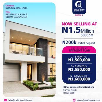 Cheapest Plot of Lands in an Estate, Igbogun, Lekki Free Trade Zone, Lekki, Lagos, Residential Land for Sale