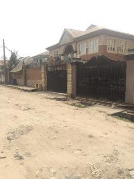 4 Bedroom Duplex, 2 Nos 3 Bedroom Flat and 2 Bedroom Flat Bq, Alhaji Agbabiaka Street, Off Ago Palace Way, Okota, Ago Palace, Isolo, Lagos, Block of Flats for Sale