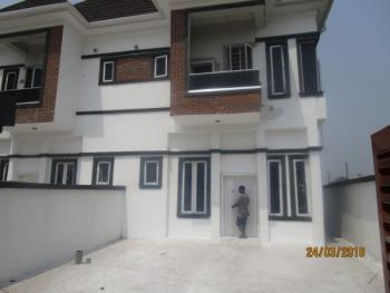Luxury 4 Bedroom Semi Detached with Excellent Facilities, Orchid Road, Lafiaji, Lekki, Lagos, Semi-detached Duplex for Sale