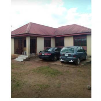 4 Bedroom Bungalow Ensuite & 3 Shops/bq on 2 Plots of Land, No 8 Wisdom Way, From Gp Bus Stop, Sango Ota, Ogun, Semi-detached Bungalow for Sale