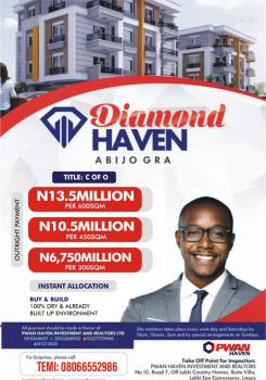 Buy and Build Land with C of O, Diamond Haven Estate, Gra, Abijo, Lekki, Lagos, Mixed-use Land for Sale