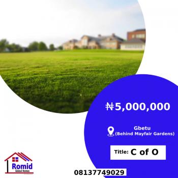 Affordable Land with C of O, Gbetu Behind Mayfair Gardens, Awoyaya, Ibeju Lekki, Lagos, Residential Land for Sale