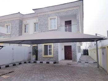 Spacious 4-bedroom Semi-detached House with Bq, Agungi, Lekki, Lagos, Semi-detached Duplex for Rent