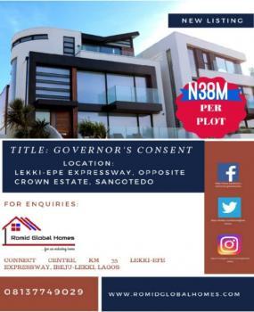 Land Along The Road, Opposite Crown Estate, Sangotedo, Ajah, Lagos, Mixed-use Land for Sale