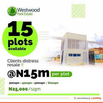 Land, Westwood Park Estate, Sangotedo, Lekki, Lagos, Residential Land for Sale